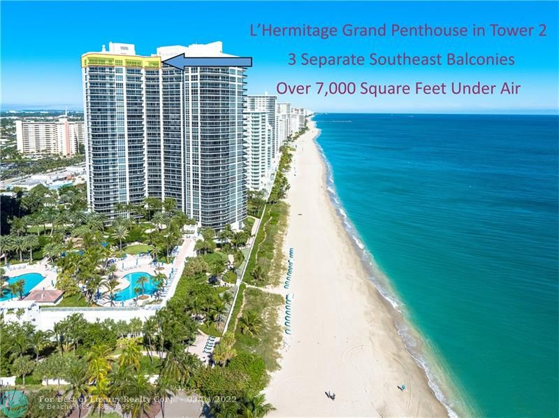L'Hermitage, 3200 N Ocean Blvd Unit PH2908, Fort Lauderdale, Florida 33308