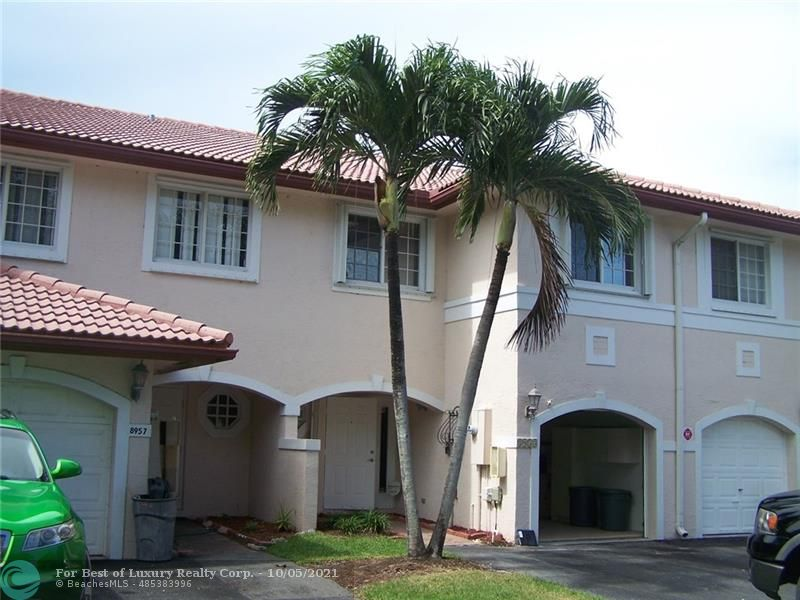 Coral Springs, 8953 NW 38th Dr Unit 8953, Coral Springs, Florida 33065