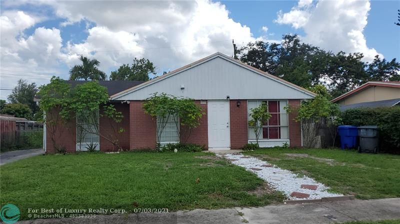 6116 Lincoln St, Hollywood, Florida 33024
