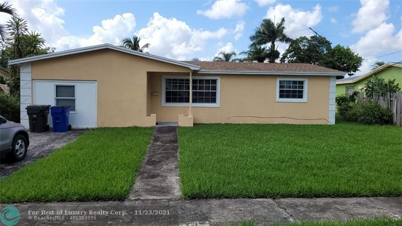 3411 NW 40th St, Lauderdale Lakes, Florida 33309