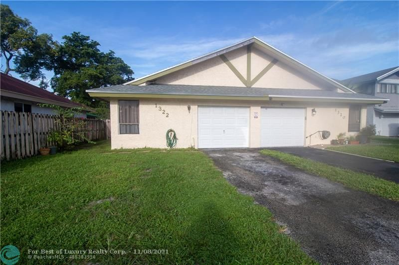 1322 SW 74th Ave, North Lauderdale, Florida 33068