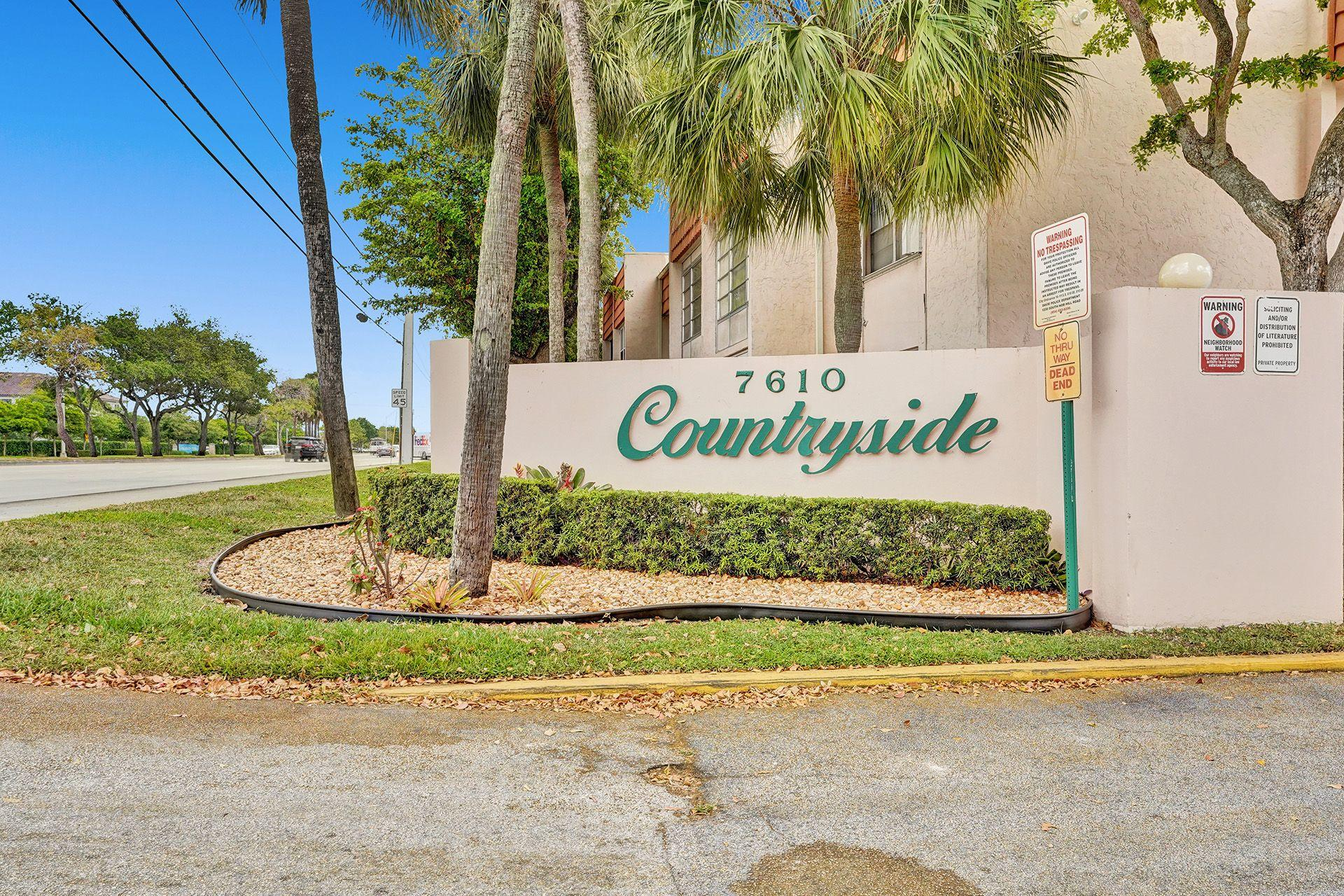 7610 Stirling Unit 102-C, Davie, Florida 33024